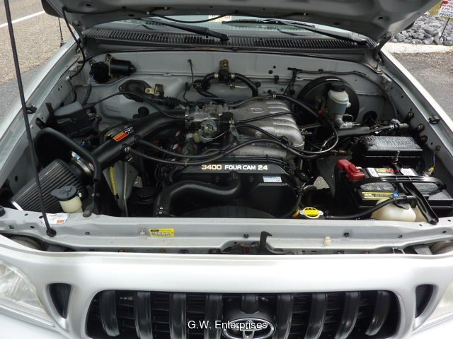 2002 Toyota Tacoma Double Cab V6 4WD 4-Speed Automatic