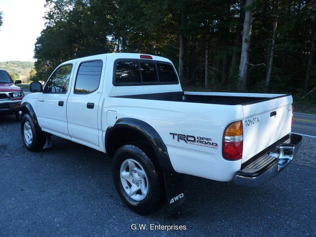 2003 Toyota Tacoma Double Cab V6 4WD 4-Speed Automatic